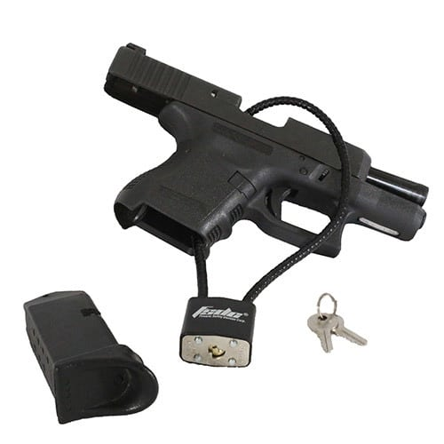 Gun Safety Locks : Fsdc firearm safety devices corp cable gun lock